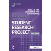 The Management of a Student Research Project - eBook