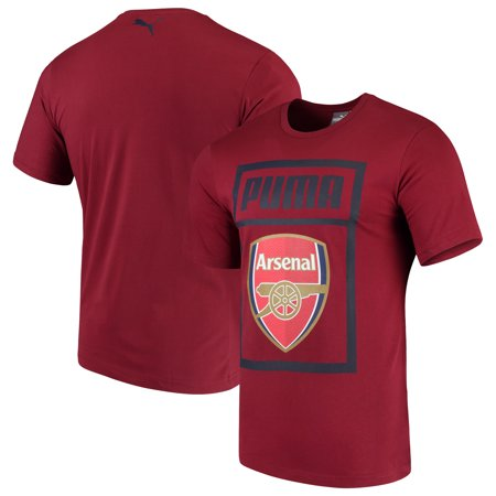 Arsenal Puma Fan Cotton T-Shirt - - Arsenal Short