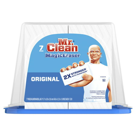Mr. Clean Magic Eraser Original, Cleaning Pads with Durafoam, 7 count