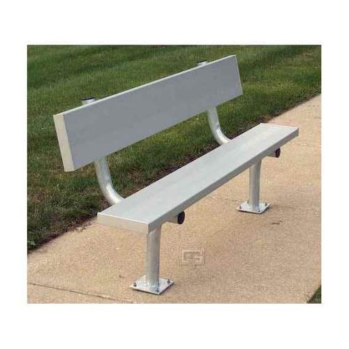 Surface Mount Bench w Back (8 ft.)