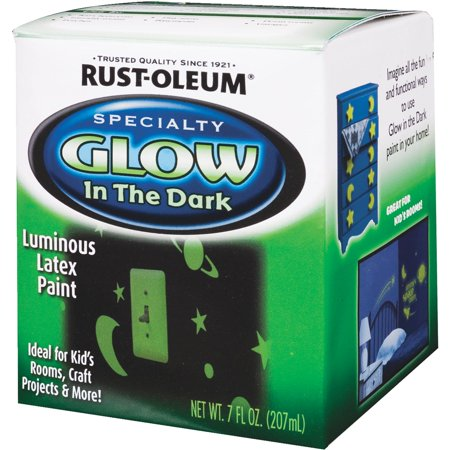 Rust-Oleum Glow In The Dark Luminous Paint - Glow In The Dark Body Paint Ideas