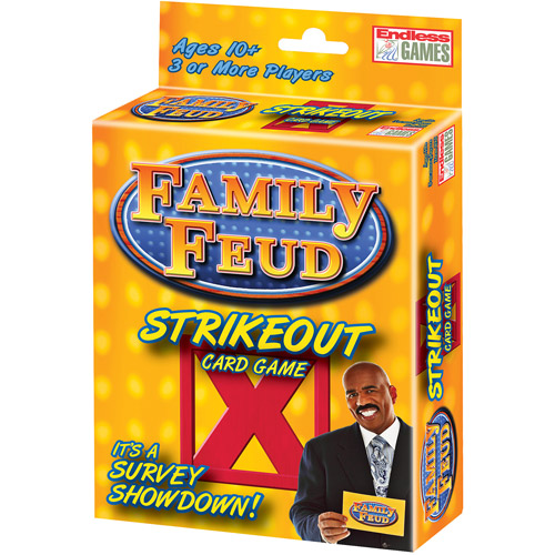Endless Games Family Feud Strike Out Card Game by Endless Games