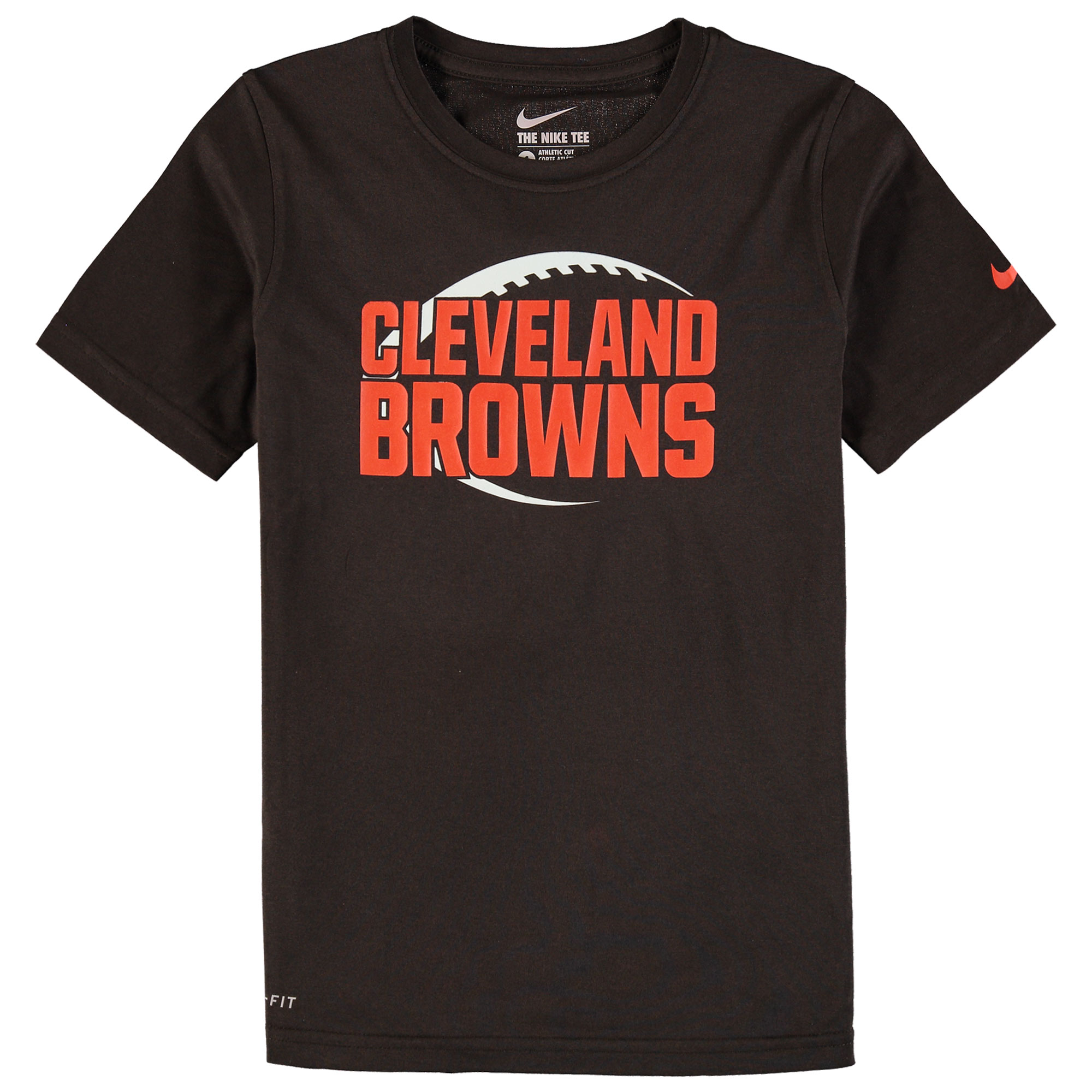 Cleveland Browns Nike Youth Legend Icon Performance T-Shirt - Brown