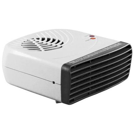 (Pro Fusion Heat QGW-10-448 500/1000 Watt Gray & Black Fan Heater With Thermostat)