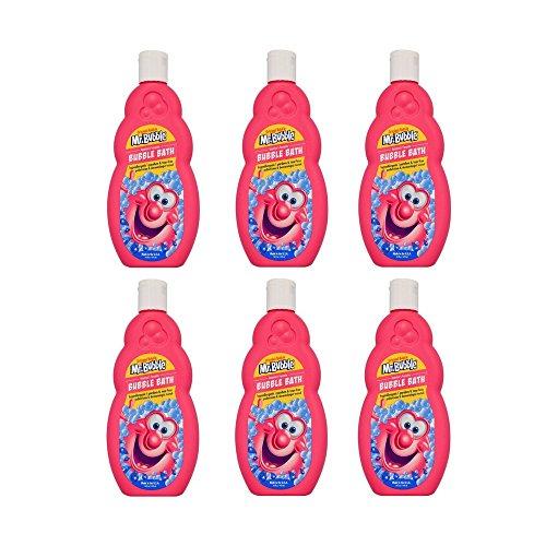 Mr. Bubble, Bubble Bath Liquid Original - 16 Ounce (Pack of 6)