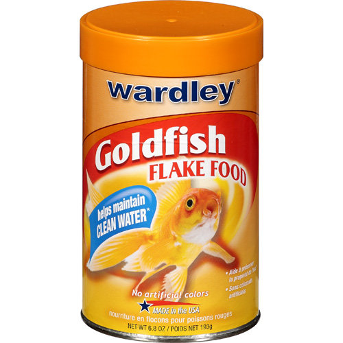 Wardley Goldfish Flakes, 6.8 oz