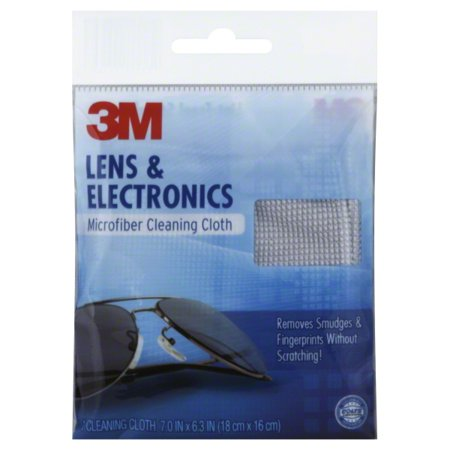 0f39335aac2d 3M Lens Cleaning Cloth - Polyester Nylon - Walmart.com