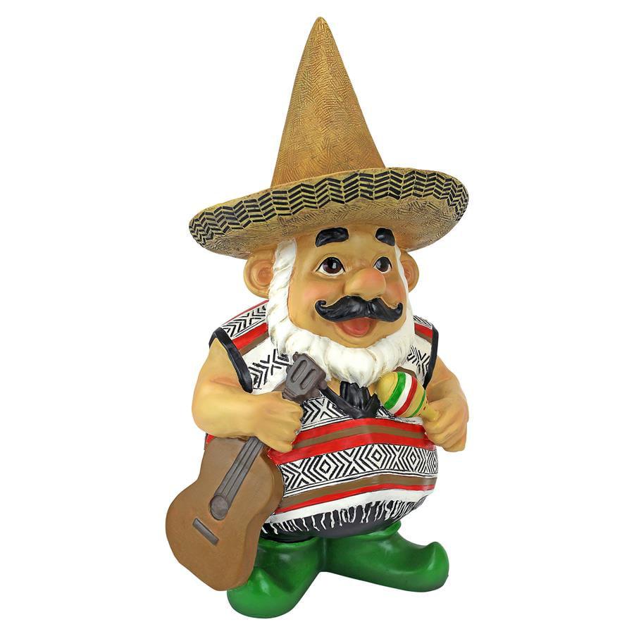 Pancho the Mariachi Garden Gnome Statue by Design Toscano