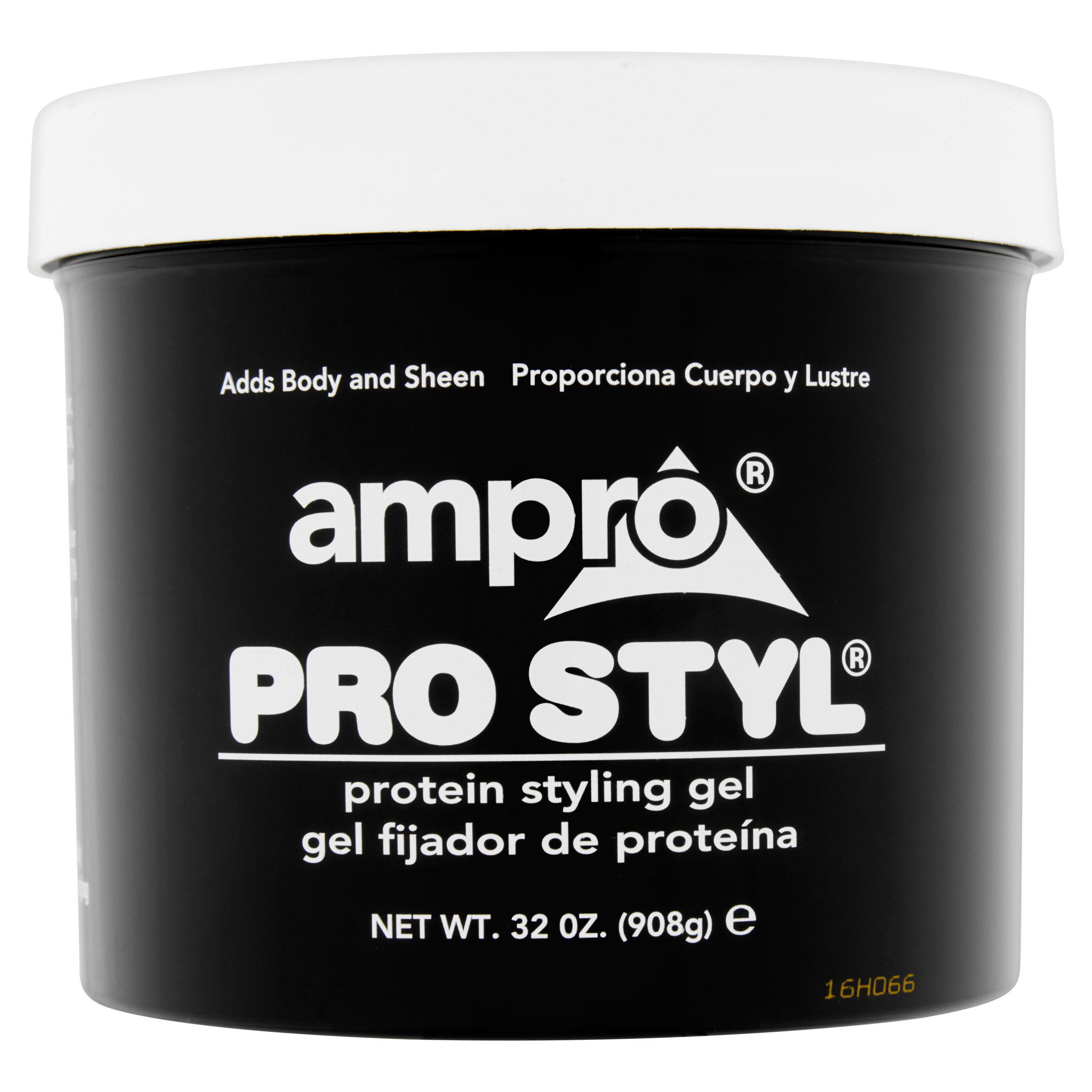 Pro Style Hair Gel Ampro Pro Styl Protein Styling Gel 32 Oz  Walmart