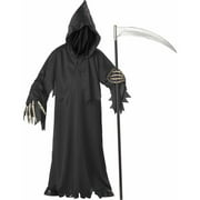 aa5e3e80 Grim Reaper Deluxe with Vinyl Hands Boys' Child Halloween Costume