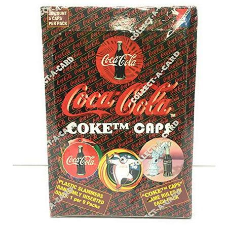 Coca Cola Coke Caps 36 Count Pogs Box   Walmart Canada