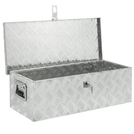 30 aluminum camper tool box w lock pickup truck bed atv - Pickup bed storage boxes ...