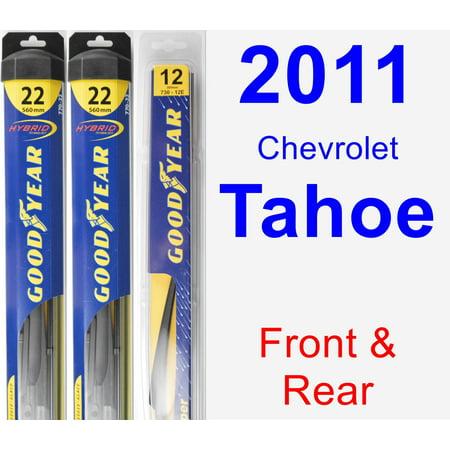 2011 Chevrolet Tahoe Wiper Blade Set/Kit (Front & Rear) (3 Blades) - Rear (Chevrolet Tahoe Wiper)