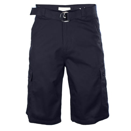 Casual Twill Shorts (Men's Casual Twill Cargo Shorts with Belt )
