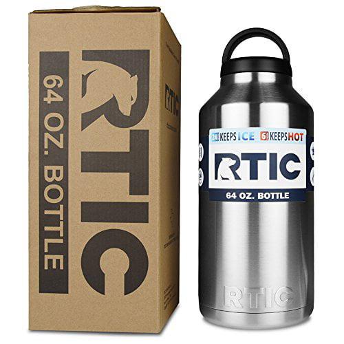 543cee086fc Rtic Stainless Steel Bottle (64oz) - Walmart.com