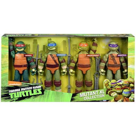 Teenage Mutant Ninja Turtles Nickelodeon Mutant XL Collection Action Figure 4-Pack