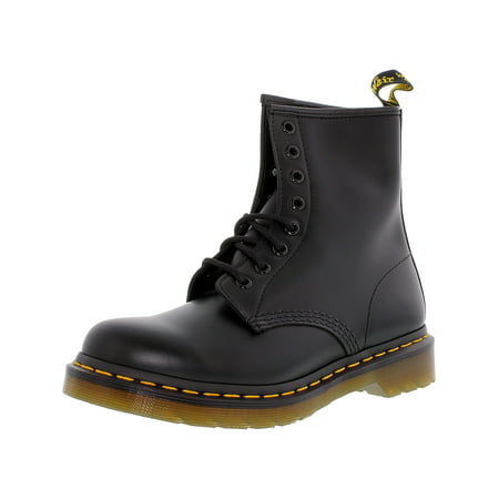 Dr. Martens Women's 1460 8-Eye Black High-Top Leather Boot - 10M ()