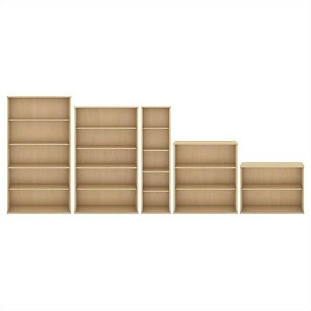 Scranton & Co 30H 2 Shelf Bookcase in Natural Maple - image 4 of 5
