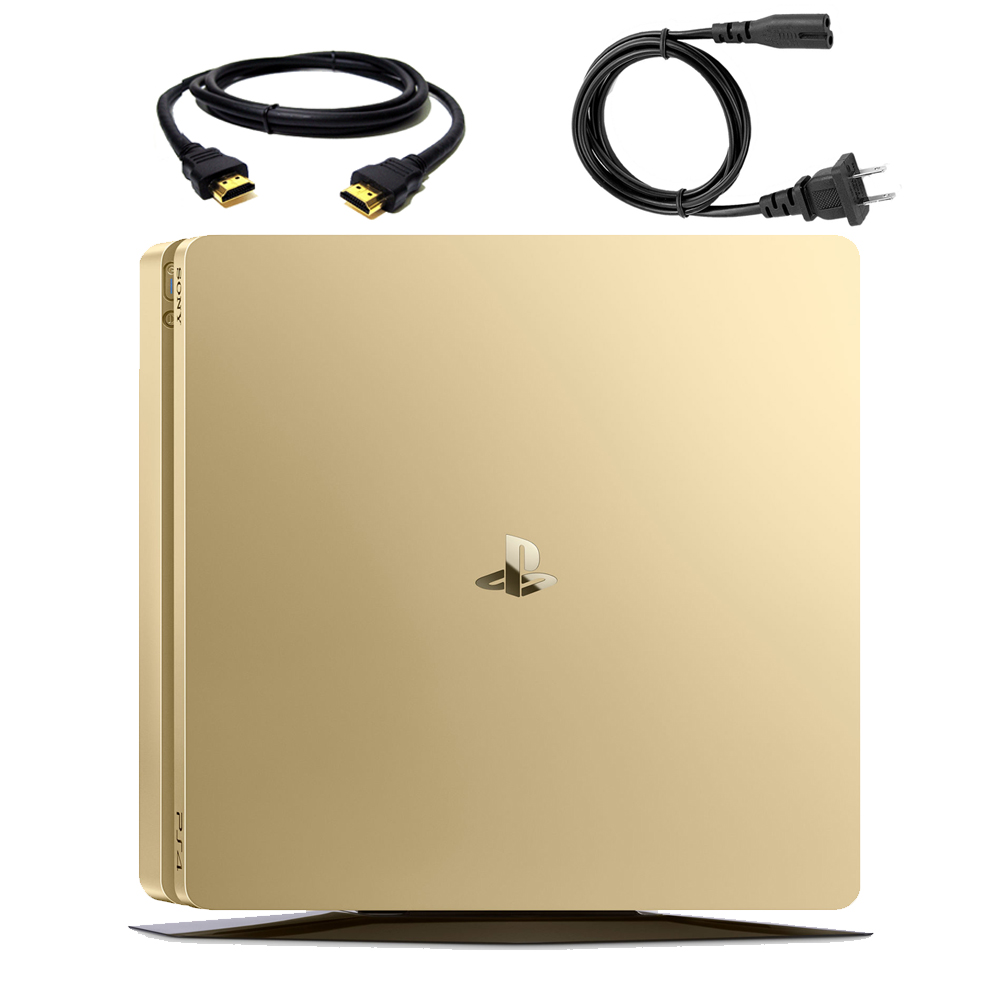 Sony PlayStation 4 Slim Gaming Console (Gold) 3002191