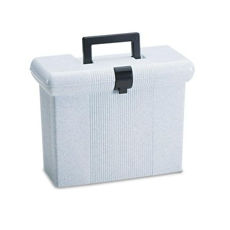 Product of Pendaflex Plastic Portafile File Storage Box, Granite (Letter) - Filing Cabinets [Bulk (Granite Top Storage)