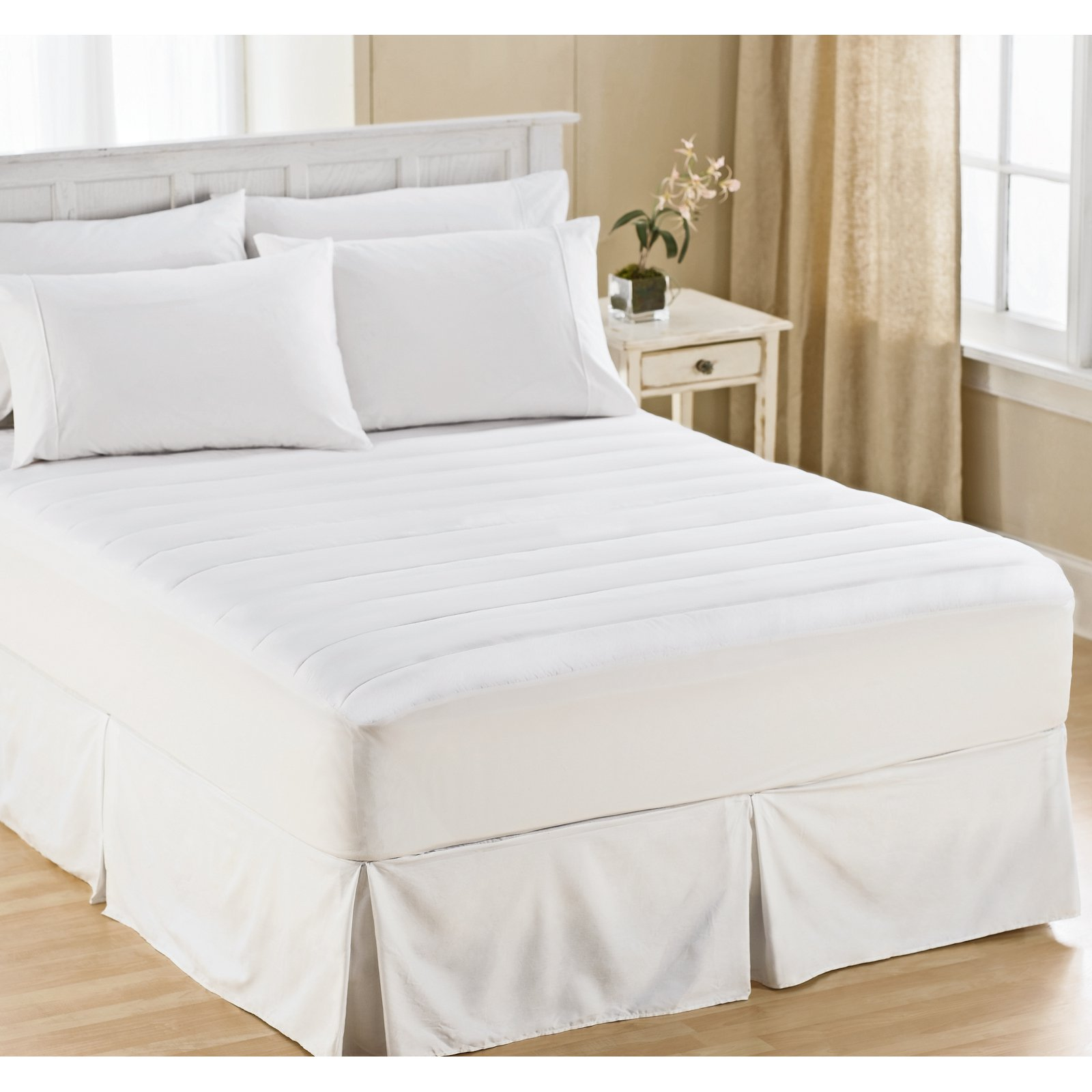 Wellrest Microfiber Mattress Pad by Perfect Fit Industries