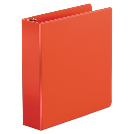 "Universal Economy Non-View Round Ring Binder, 2"" Capacity, Red -UNV34403"