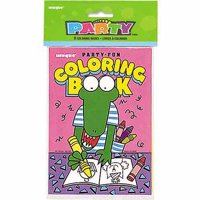 (2 Pack) Coloring Book Party Favors, 7.5 x 5in, 8ct