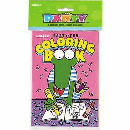 Coloring Book Party Favors, 8ct