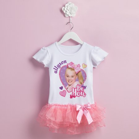 JoJo Siwa Personalized Pink Tutu (1990's Party Costume Ideas)