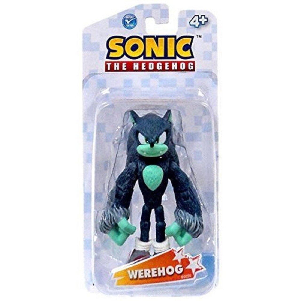 """Sonic the Hedgehog Werehog 3.5/"""" plastique figurine par Jazwares"""