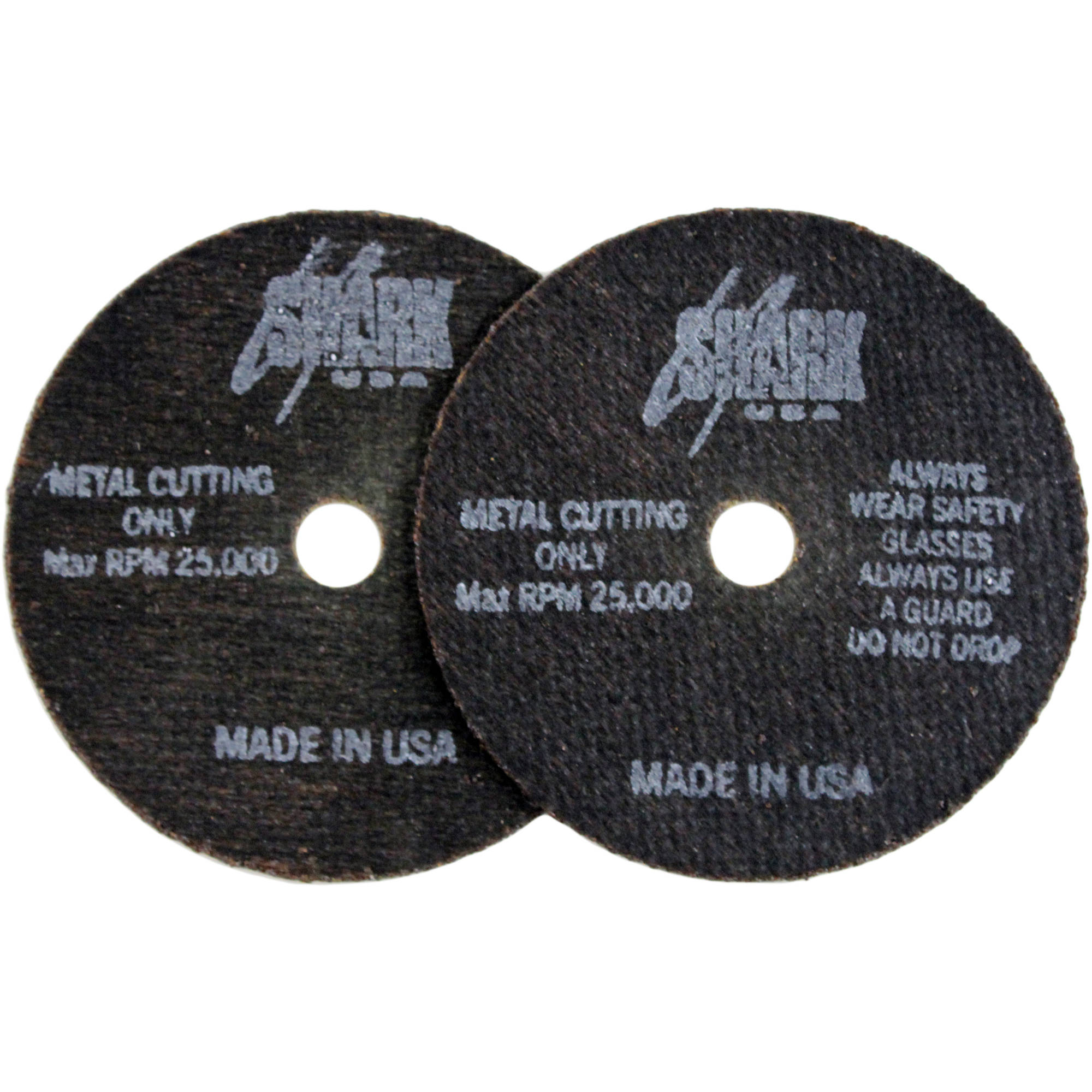 "Shark Cutoff Wheels, 3"" x 1/32"" x 3/8"", 10pk, 54 Grit"