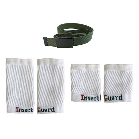 - Insect Guard Permethrin Treated InsectGuard -Tick & Mosquitoes Insect Repellent Complete Package 3 -(Green/White) One Size Fits All Up To Adult Large
