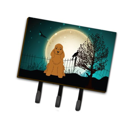 Halloween Scary Cocker Spaniel Red Leash or Key Holder BB2285TH68 (Halloween Stores Ontario)