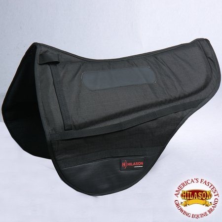 Cta133 Hilason Endurance Saddle Pad - Black