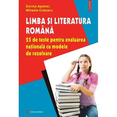 Limba și literatura română. 25 de teste pentru Evaluarea Națională cu modele de rezolvare - eBook - Modele De Halloween