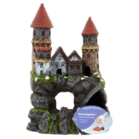 Penn Plax Deco Replicas Enchanted Castle Medium Aquarium Ornament