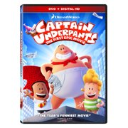 Captain Underpants: The First Epic Movie (DVD + Digital HD) by Generic