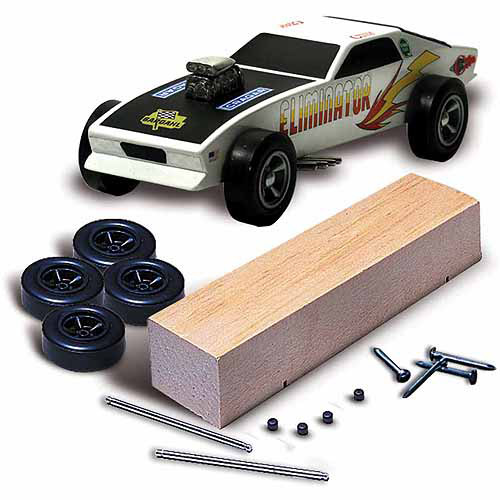 Pine Car Derby Racer Kit, Basic
