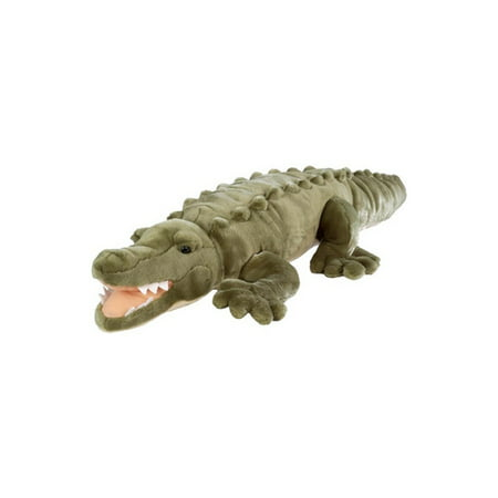 Cuddlekins Jumbo Crocodile Plush Stuffed Animal by Wild Republic, Kid Gifts, Zoo Animals, 30 Inches