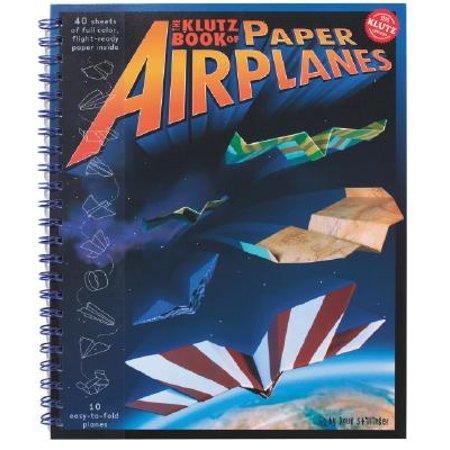 Klutz Book of Paper Airplanes (Best Paper Airplane In The World 2019)