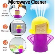 Microwave Steam Cleaner Angry Mama Kitchen Gadget Easily Clean Microwave Oven Steam Cleaner