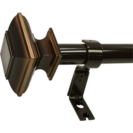 Better homes and gardens square telescoping 1 curtain rod - Better homes and gardens curtain rods ...