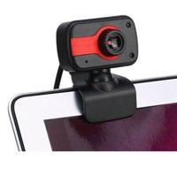 V3 USB2.0 HD Webcam Camera Web Cam w/ Mic for Computer PC Laptop Desktop Clip-on