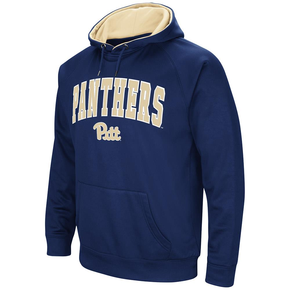 Mens Pittsburgh Panthers Fleece Pull-over Hoodie by Colosseum