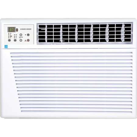 Black decker 18 000 btu energy star window room air for 18 000 btu window air conditioner