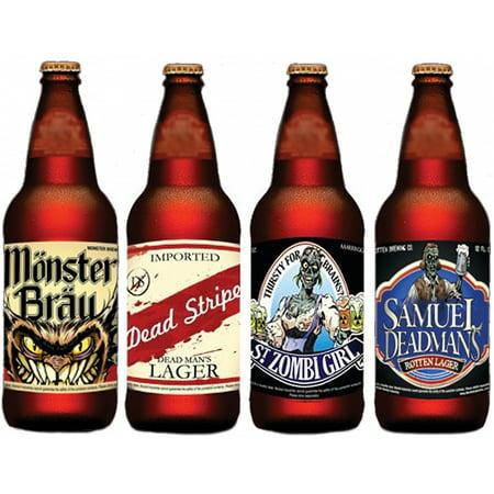 Halloween Slapsticker Beer Adult Decoration