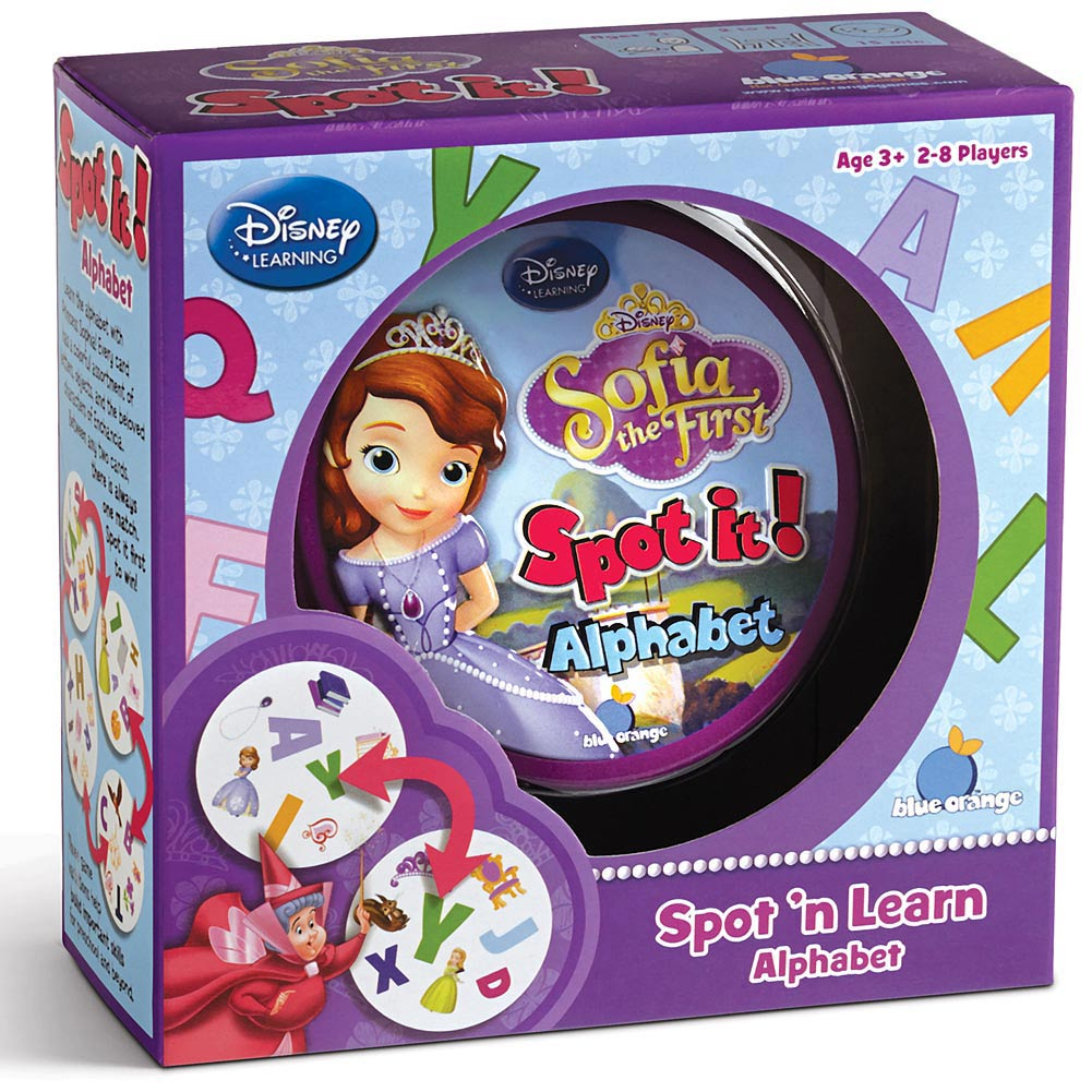 Spot it! Sofia the First Game