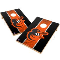 Baltimore Orioles 2' x 3' Solid Wood Cornhole Vintage Game Set