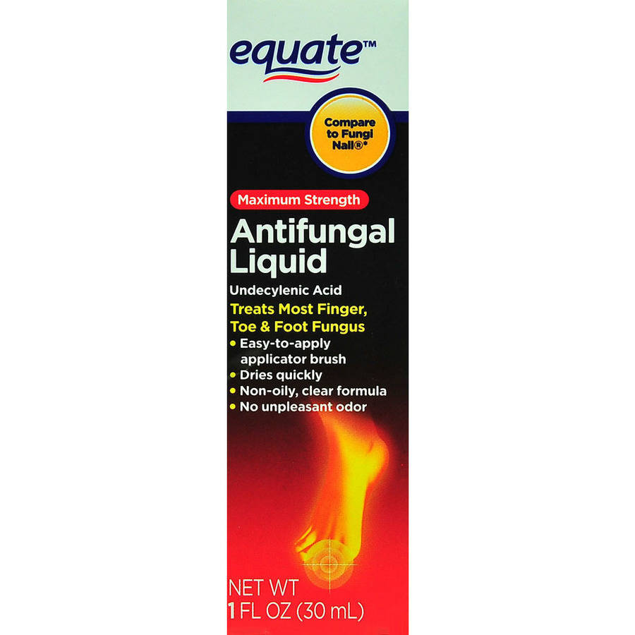Equate Maximum Strength Antifungal Liquid, 1 Oz