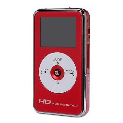 Refurbished DXG DXG-567V 32 MB Camcorder - Red